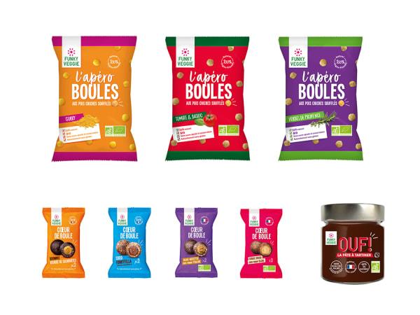 Snacks sains et gourmands - Pack découverte Funky Veggie