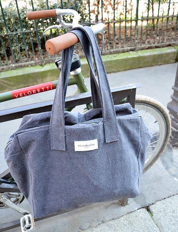 Célestins, le sac 24h en coton recyclé