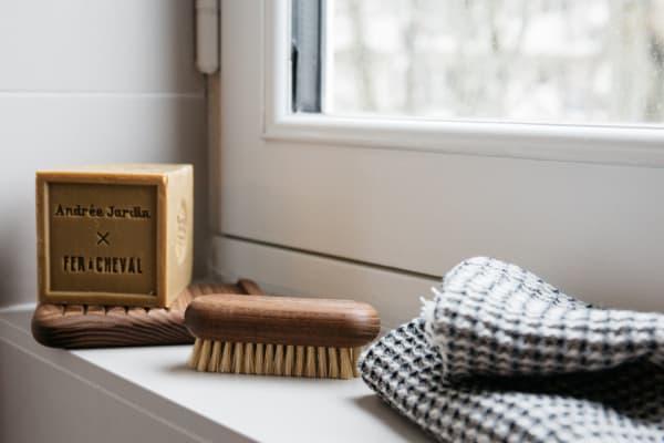 Coffret salle de bain zéro déchet, Andrée Jardin & Fer à Cheval