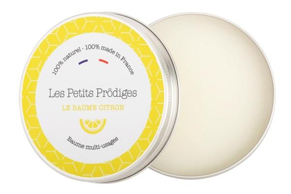 Baume citron multi-usages, 100% naturel et made in France