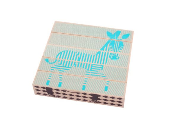 Puzzle 1er âge en bois durable, made in France