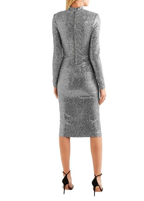 Silver dress 4