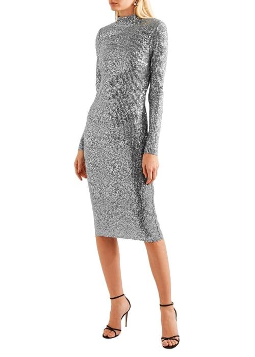 Silver dress 1