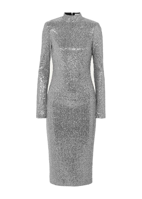 Silver dress 2