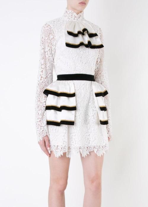 Macgraw white the biz dress