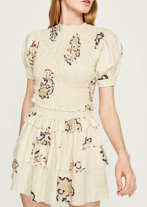 Aster tee mini dress bone rococ sir tuchuzy4 1000x1429 crop center