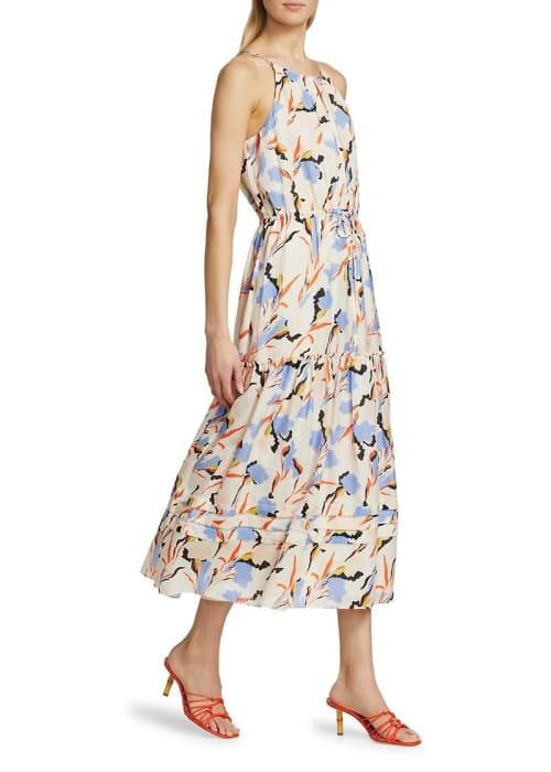 Joie huston floral midi dress abvdaa96c5b zoom