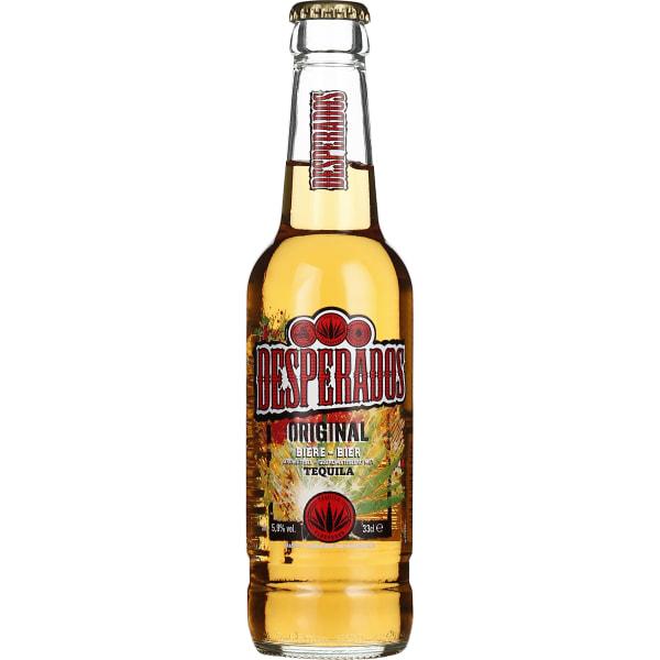Desperados Tequila Beer 24x33CL