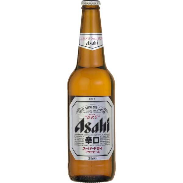 Asahi Super Dry Beer 24x33CL