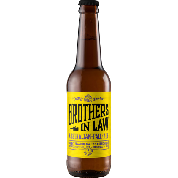 Brothers In Law Australian Pale Ale 24x33CL