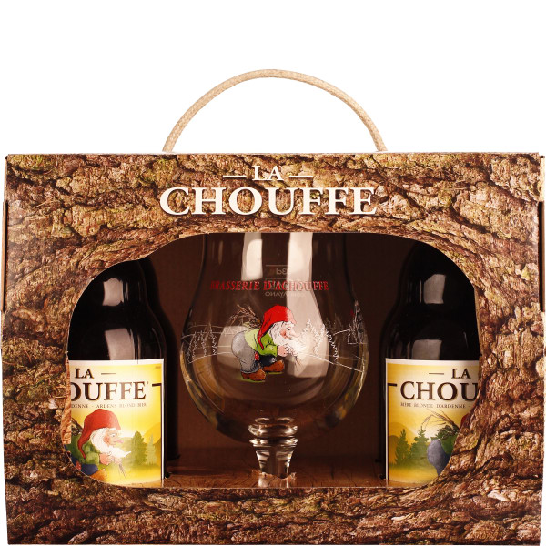 La Chouffe Giftset 4x33CL