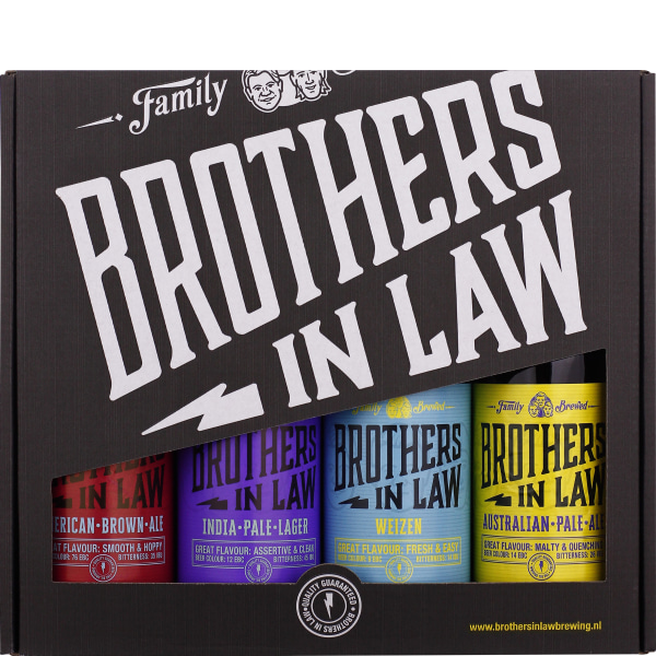 Brothers in Law Giftset 4x33CL