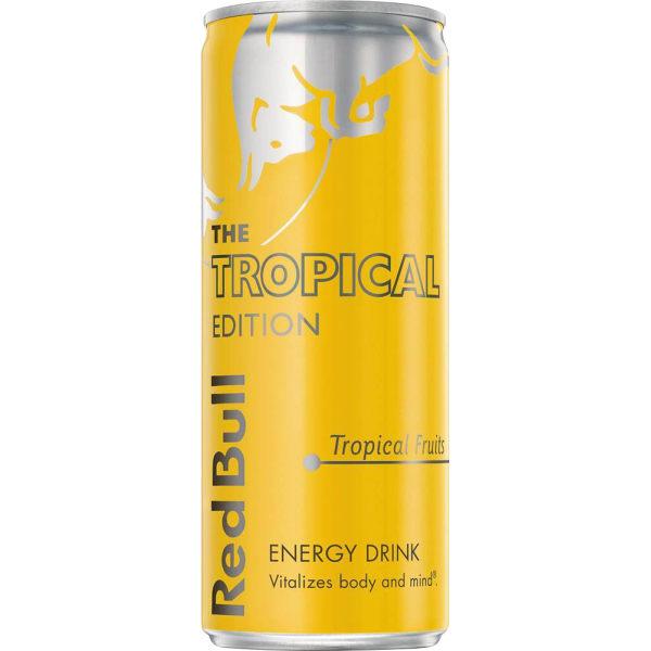 Red Bull Tropical blik 12x25CL