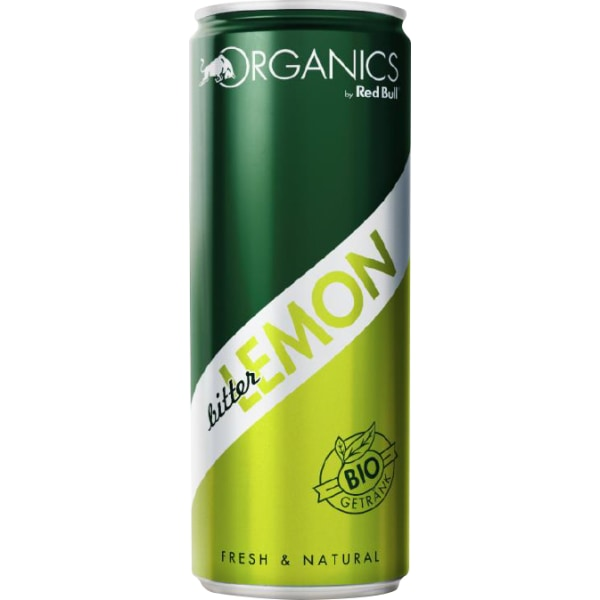 Red Bull Organics Bitter Lemon 12x25CL