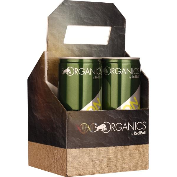 Red Bull Organics Bitter Lemon 4-pack 4x25CL