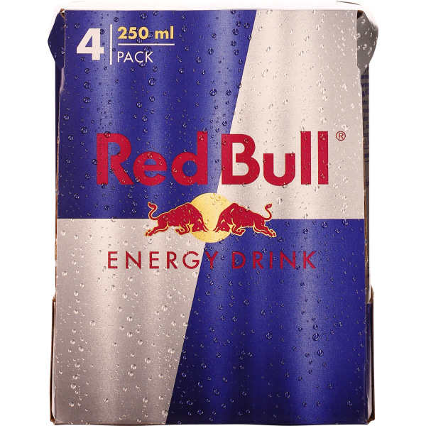 Red Bull blik 4-pack 4x25CL