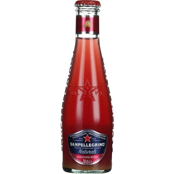San Pellegrino Aranciata Rossa Organic 24x20CL