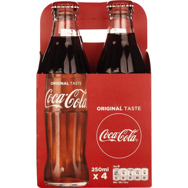 Coca-Cola Classic 4-pack 4x25CL