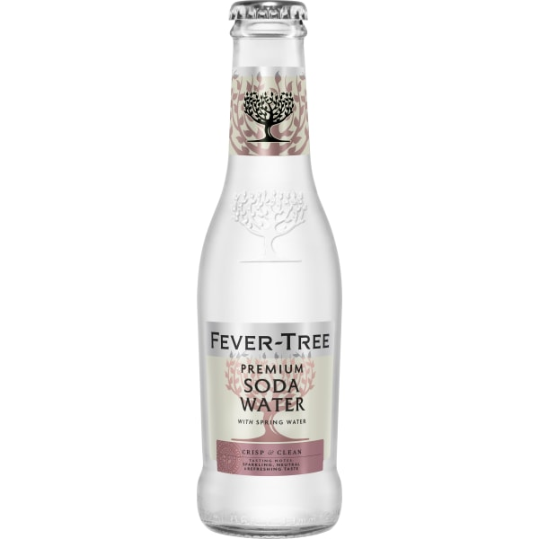 Fever Tree Soda Water 24x20CL