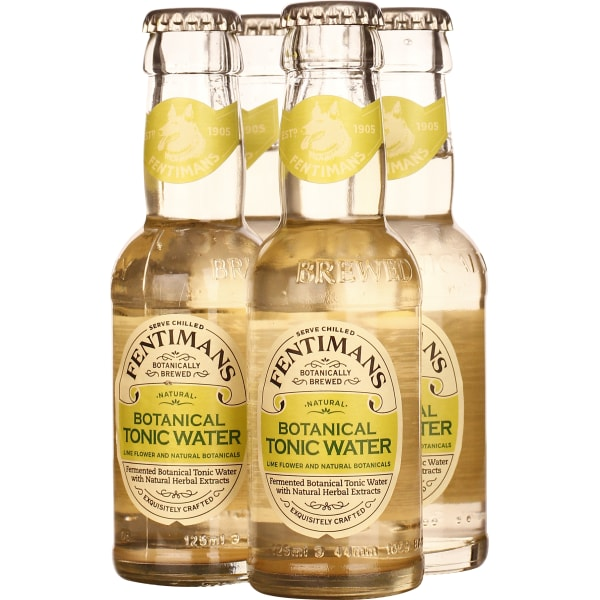 Fentimans Botanical Tonic Water 4-pack 4x125ML