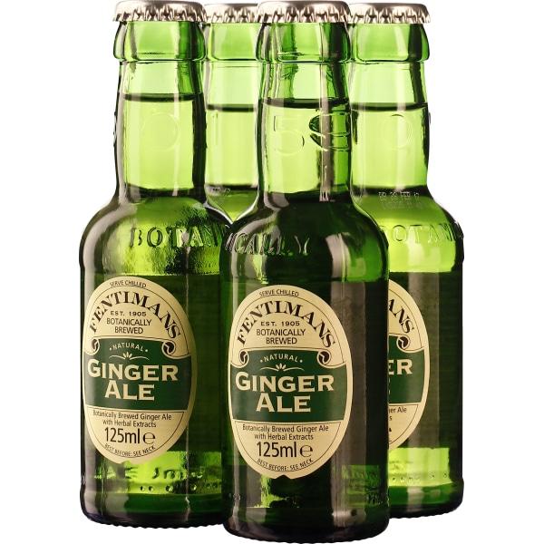 Fentimans Ginger Ale 4-pack 4x125ML