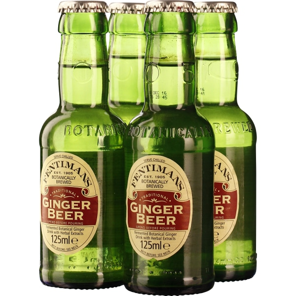 Fentimans Ginger Beer 4-pack 4x125ML