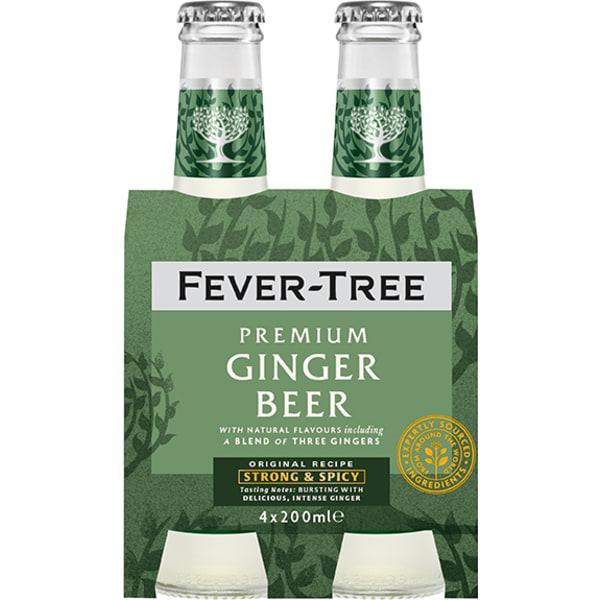Fever Tree Ginger Beer 4-pack 4x20CL