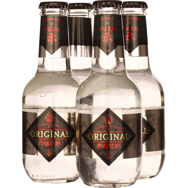Original Yuzu Ocha Tonic Water 4-pack 4x20CL
