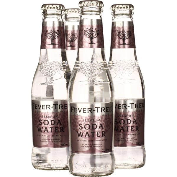 Fever Tree Soda Water 4-pack 4x20CL