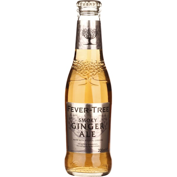Fever Tree Smoky Ginger Ale 24x20CL