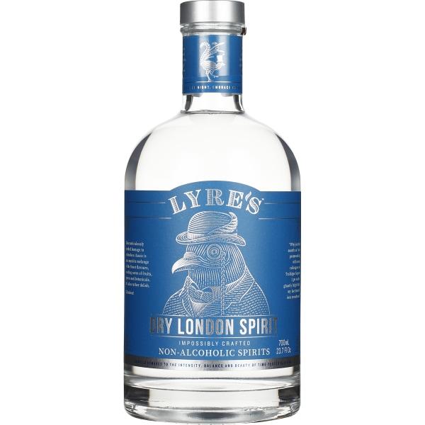 Lyres Dry London non-alcoholic Spirit 70CL drankdozijn