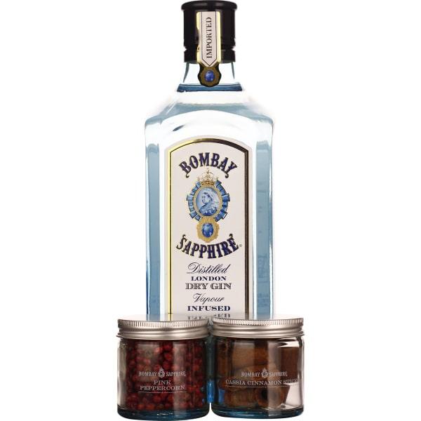 Bombay Sapphire Gin Botanical Giftset 70CL