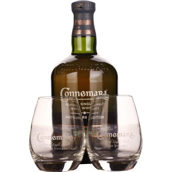 Connemara Distillers Edition Giftset 70CL