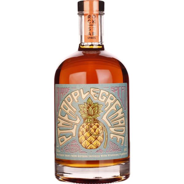 Rockstar Pineapple Grenade Overproof Rum 50CL