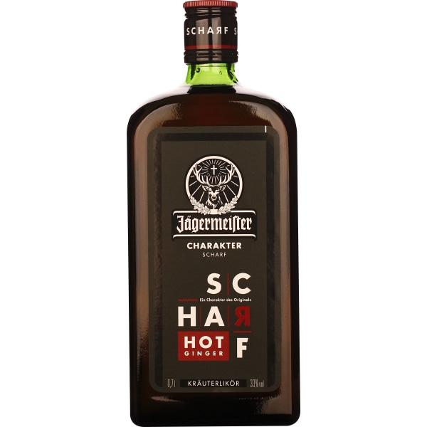 Jagermeister Scharf Hot Ginger 70CL