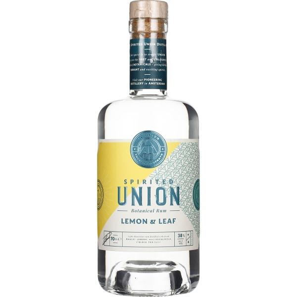 Union Lemon & Leaf Botanical Rum 70CL