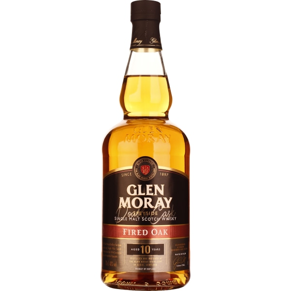 Glen Moray 10 years Fired Oak 70CL