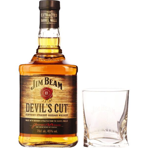 Jim Beam Devils Cut Giftset 70CL