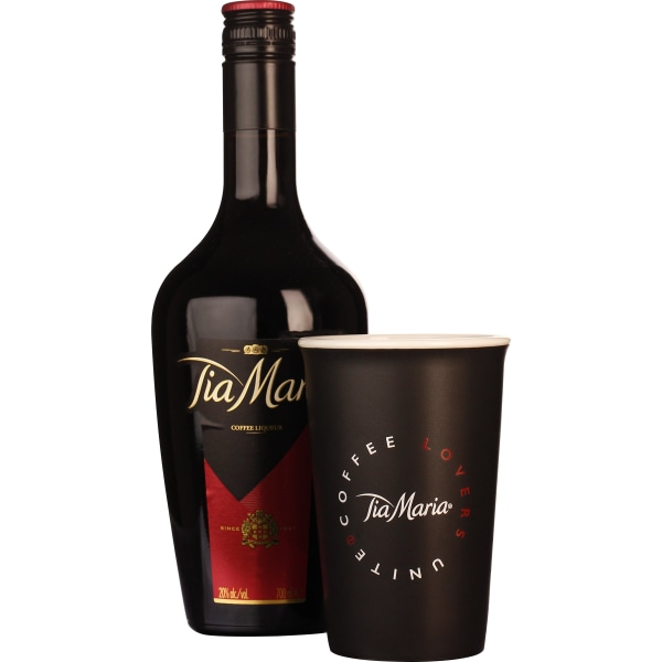 Tia Maria Coffee Cup Giftset 70CL