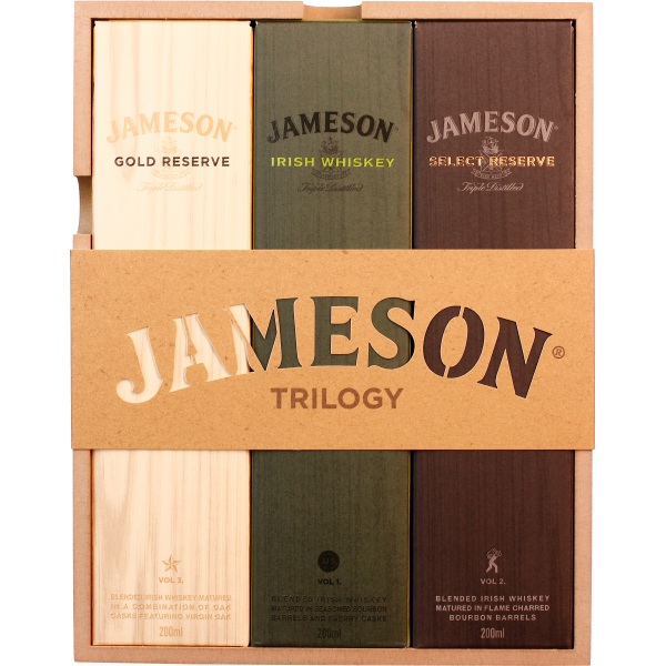 Jameson Trilogy Coffret Mini Collection 60CL