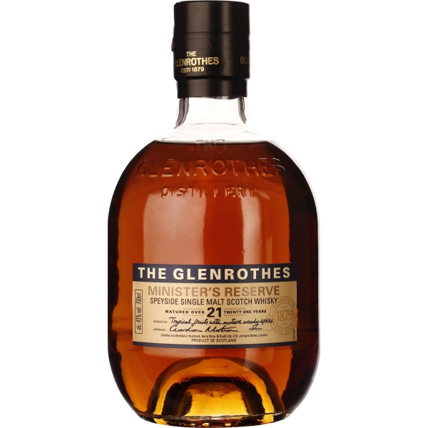 The Glenrothes 21 years Ministers Reserve 70CL
