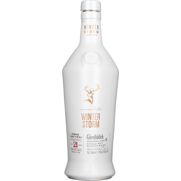 Glenfiddich 21 years Winter Storm 70CL
