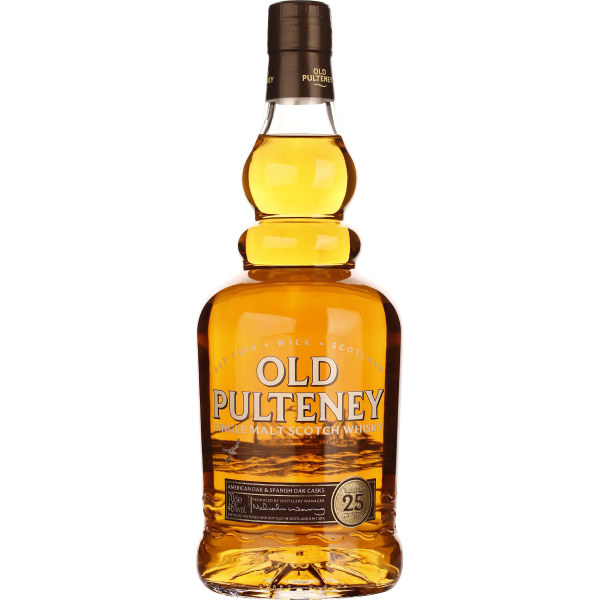 Old Pulteney 25 years 70CL