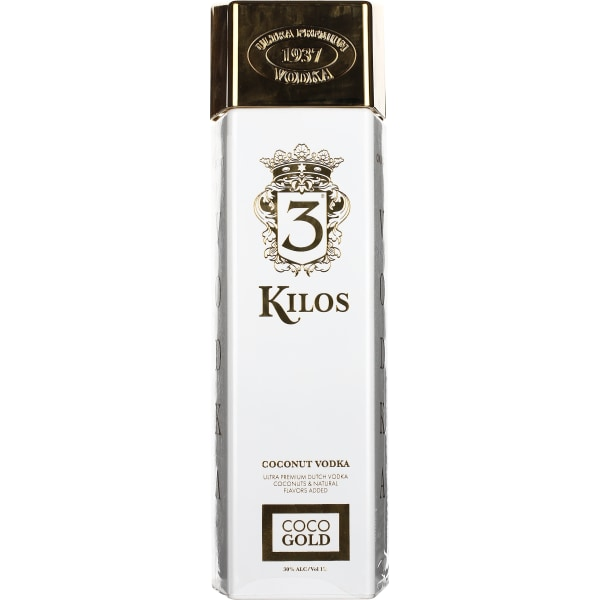 3 Kilos Coconut Vodka 1LTR