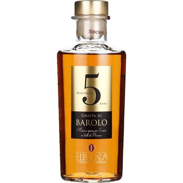 Sibona Grappa 5 years Barolo 50CL