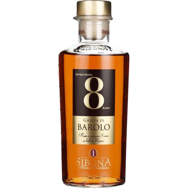 Sibona Grappa 8 years Barolo 50CL