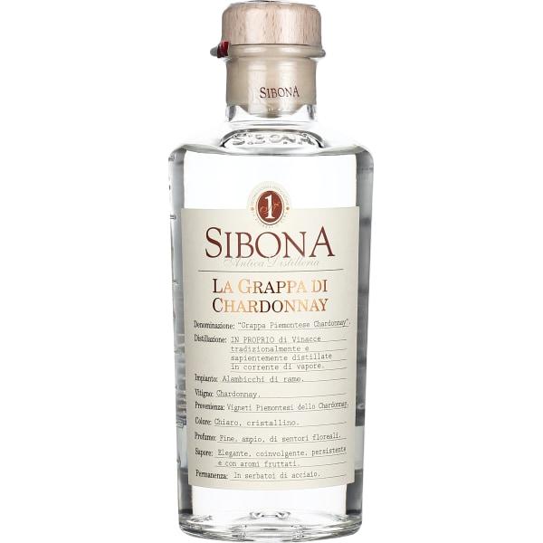 Sibona Grappa Chardonnay 50CL