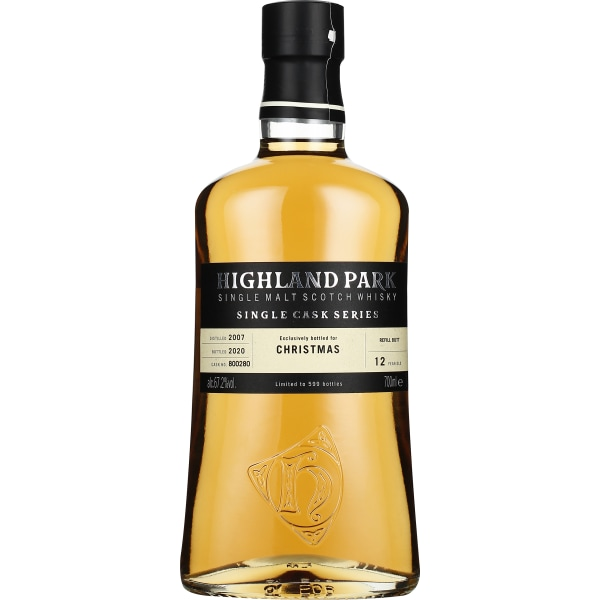 Highland Park 12 years Christmas Single Cask 70CL