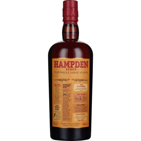 Hampden Pure Jamaican Overproof Rum 70CL