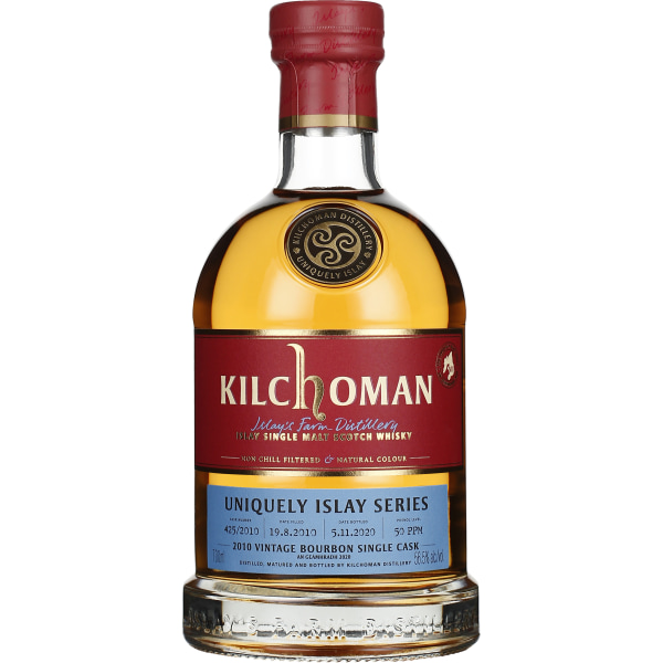 Kilchoman Vintage 2010 Bourbon Single Cask 425 70CL